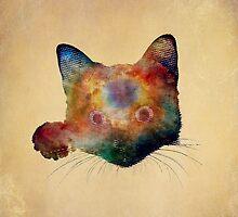 Nebula Cat by DejaReve