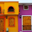 building with colour 2 by richard  webb