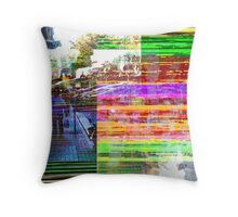 What does a visual term for distillation sound as? Throw Pillow