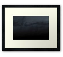 sunset experiment - 1 Framed Print