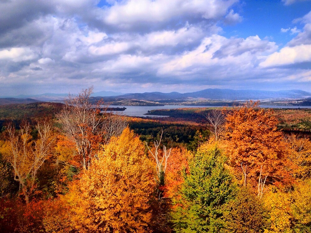 Rangeley Lake, Maine by fauselr