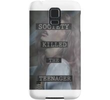 Society Killed the Teenager Samsung Galaxy Case/Skin