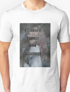 Society Killed the Teenager Unisex T-Shirt