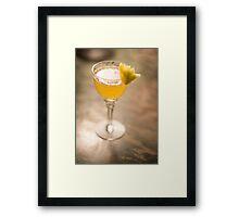 Queens Cocktail Framed Print