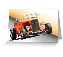 1932 Ford ' The Deuce' Roadster Greeting Card