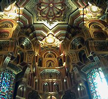 Majestic Tangent art deco gothic  by VibrantDesigns