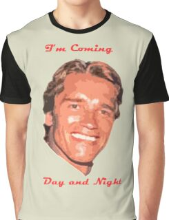 Coming Day and Night Graphic T-Shirt