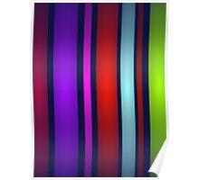 Night Stripes Poster