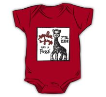 Sophie la Girafe Has A Posse Giraffe Retro One Piece - Short Sleeve