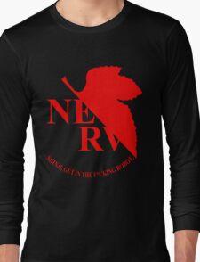 Evangelion NERV Tee Long Sleeve T-Shirt