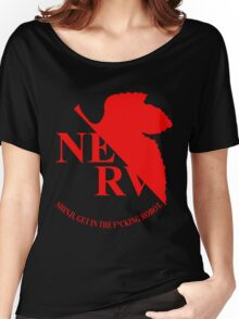Evangelion NERV Tee Women's Relaxed Fit T-Shirt