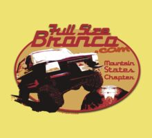 Ford Bronco Full Size Mountain States 4x4 fullsizebronco.com Kids Clothes