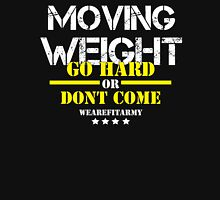 Moving Weight - GHODC Black Tee w/ White Print Unisex T-Shirt