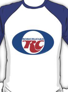 Rosicrucian RC Royal Crown Cola Logo Retro Vintage T-Shirt
