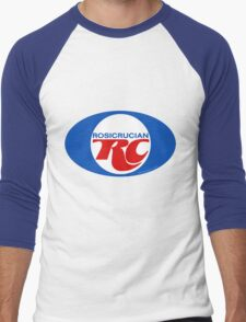 Rosicrucian RC Royal Crown Cola Logo Retro Vintage T-Shirt