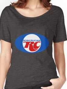 Rosicrucian RC Royal Crown Cola Logo Retro Vintage Women's Relaxed Fit T-Shirt