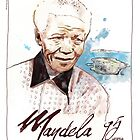 Happy Birthday Mandela by Ludwig Wagner