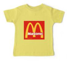 Masonic Freemason McDonald's Esoteric Symbol Baby Tee