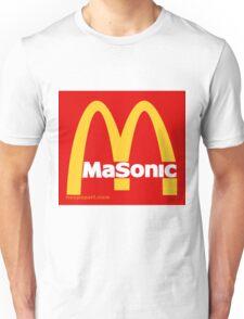 Masonic Freemason McDonald's Esoteric Symbol Unisex T-Shirt