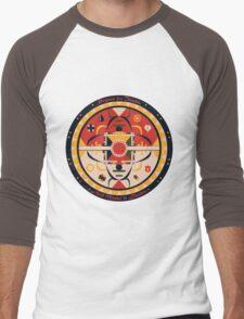 Pokeball Mandala Men's Baseball ¾ T-Shirt