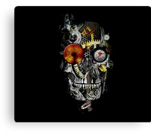 steam powered skull Canvas Print