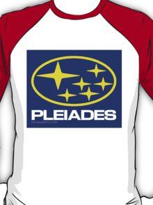 Pleiades Mythology Esoteric Mystery School Subaru Auto Logo T-Shirt
