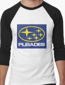 Pleiades Mythology Esoteric Mystery School Subaru Auto Logo Men's Baseball ¾ T-Shirt