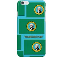 Smartphone Case - State Flag of Washington VII iPhone Case/Skin