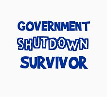Government Shutdown Survivor Unisex T-Shirt