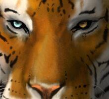 Max Scherzer Tiger, Full Sticker
