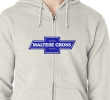 Chevrolet Maltese Cross Knights of Malta Chevy Emblem Zipped Hoodie