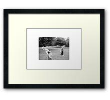 TRISH & MICK – LEICESTERSHIRE 2002 Framed Print