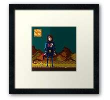 8-bit sequel Framed Print