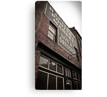 Raftery's Poultry Market Canvas Print