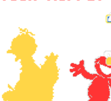 Muppet Fighter Sticker