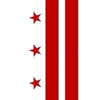 Smartphone Case - Flag of Washington DC by Mark Podger