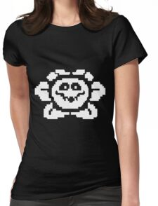 Flowey Womens Fitted T-Shirt