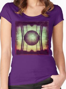 Orb of Watercolorishness Women's Fitted Scoop T-Shirt