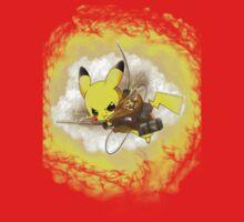 Pikachu! I CHOOSE YOU! ATTACK ON TITAN! Kids Clothes