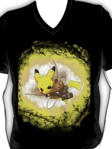 Pikachu! I CHOOSE YOU! ATTACK ON TITAN! T-Shirt