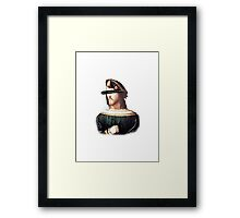 either cesare or nothing Framed Print