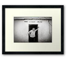 The Donkey Pelvis, Owey Island Framed Print