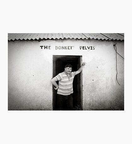 The Donkey Pelvis, Owey Island Photographic Print