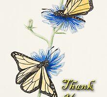 Thank You Butterflies by jkartlife