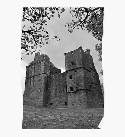 Carnasserie Castle, Argyll, Scotland Poster