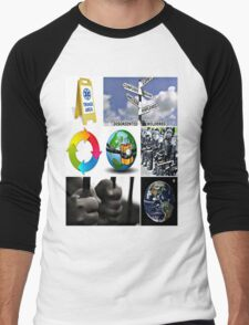 world triage Men's Baseball ¾ T-Shirt
