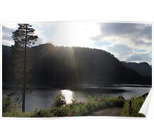 Thirlmere Lake District Cumbria Poster