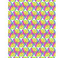 Candy Diamond Pattern Photographic Print
