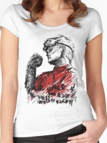 Ph.D in Horribleness Women's Fitted Scoop T-Shirt