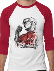 Ph.D in Horribleness Men's Baseball ¾ T-Shirt